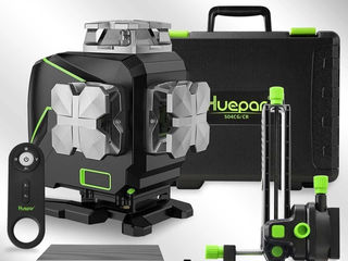 Huepar S04CG&Osram 4D Суперточный. Премиум класс : дисплей, bluetooth, пульт, кейс...