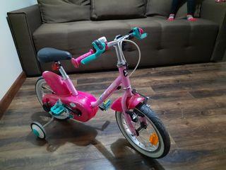 Продам велосипед фирмы Decathlon в хорошем состояние. возраст 3/5 лет,размер колес  14