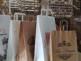 Брендированные пакеты для упаковки различных товаров для самых желанных  покупателей!