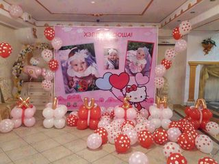 Decor din baloane – reduceri! cumatrii, nunti, zile de nastere! - оформление шарами!