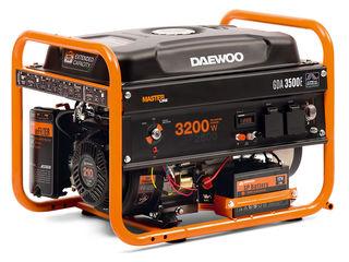 Генератор бензиновый Daewoo GDA 3500E +( электро запуск )