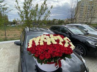 101 trandafiri Tiraspol de la 1700 lei!