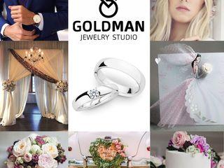 """Salon&Atelier """"Goldman"""" vă propune confecționare-reparație, verighete, inele de logodnă, pandatative"""