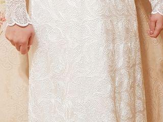 Свадебное платье и пальто новые