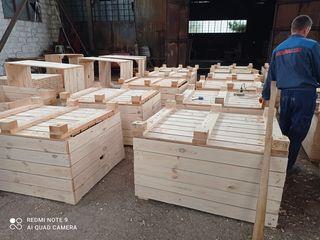 Containere pentru mere/ деревянные контейнеры для яблок