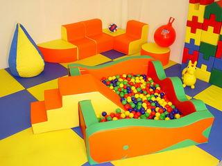 детская мягкая игровая комната, мягкие игровые элементы, детские мягкие конструкторы
