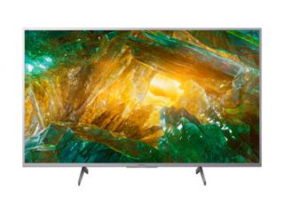 Телевизор Sony KD43XH8077SAEP 43/ 4K UHD/ Smart TV/ Wi-Fi/ серебристый