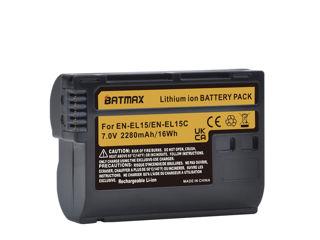 Aккумуляторы для Nikon EN-EL15C, Nikon EN-EL14, (Batmax). Новые. Зарядка - 180 Лей