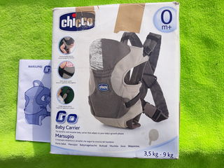 Marsupio-рюкзак. practic nou,foarte comod si calitativ. chicco -italia