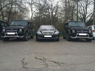 Mercedes-benz s-class w221 w222 белый-чёрный, для вашей свадьбы 109€/день