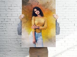 Стилизованные портреты по фото на заказ