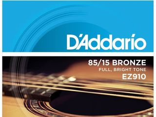 Corzi pentru chitara acustica,clasica,electro,bass,ukulele D'addario
