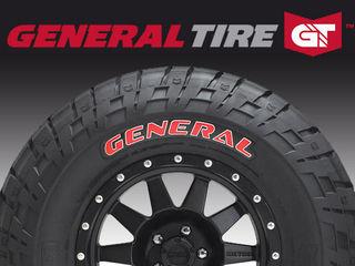 Новая поставка шин General Tire