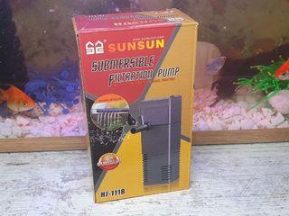 Фильтр и компрессор для небольшого аквариума.