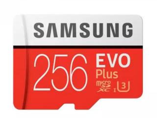 Card de memorie Samsung EVO Plus 256GB MicroSDXC Clasa 10 UHS-I U3 + Adaptor SD
