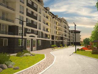 Apartamente cu 2 odai, centru, de la 580 euro/m2 direct de la constructor