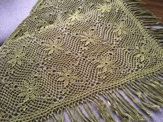 Новая шаль. Натуральная шерсть