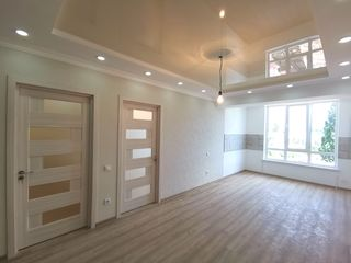 Буюканы. 2 комнаты + ливинг. 54m2. Дом сдан. В кредит без справки о доходах!