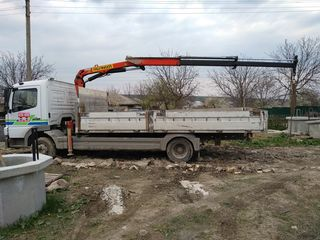 Serviciul cran ,  transport   materiale de constructie  si altele  lucram 2424