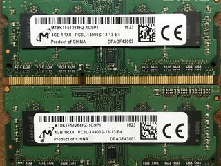 Sodimm DDR3L -14900S 1866Mhz 2x4GB