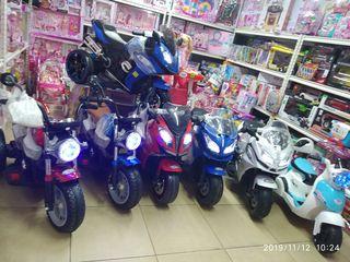 Motociclete electrice pentru copii.