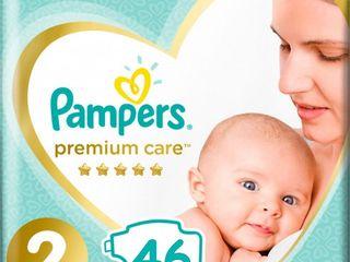 Подгузники Pampers Premium Nr. 2 (4-8 кг) 46 шт.