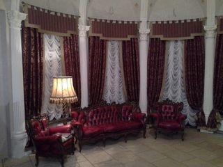 Пошив штор,чехлов,элементов декора