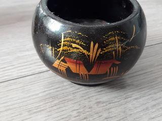 Деревянная пиала (малая) ручной работы