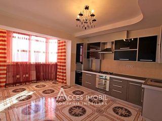Bloc Nou! str. M. Sadoveanu, 3 camere + living, Euroreparație!