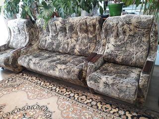 Набор мягкой мебели всё раскладное очень дёшево  -Set de mobila moale, extensibil foarte ieftin