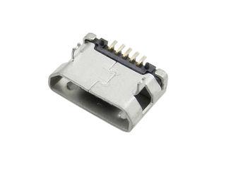Гнездо микро USB 5-контактный разъем SMD. Тактильный кнопочный переключатель 3 x 4 x 2,5 мм