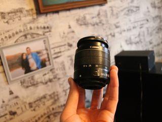 Продаю объектив  canon EFS 18-55  в хорошем состоянии !
