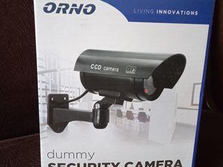 Продается муляж  камеры видеонаблюдения,   с подсветкой, новый в упаковке.