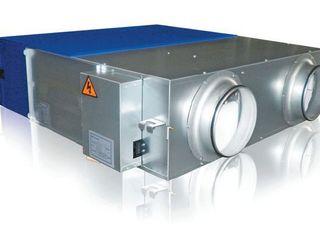 Системы вентиляции в Кишиневе. Приточно-вытяжные установки и тепловые насосы для дома и квартиры.