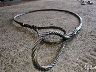 Трос стальной,мягкий, Стропы стальные.Таль цепная ручная Домкраты Тачка строительная