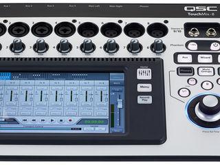 Mixer digital QSC TouchMix-8. livrare în toată Moldova,plata la primire
