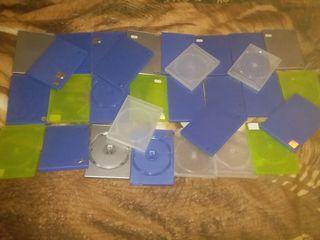 Продам кучу коробок для дисков CD,DVD,BD - 100 лей за всё