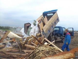 Вывезем строительный мусор.Evacuarea gunoiului
