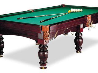 2 бильярдных стола 10 футов плита ардезия-38 мм, в полном комплекте: лампа, кии, шары, подставка под