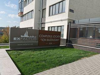 Apartament cu 2 odăi și living 84m2 variantă albă Exfactor Buiucani