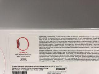 Apple Watch Series 6 40 mm Cellular - Red - Новые.