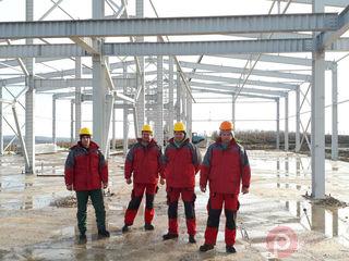 Металлоконструкции в Кишиневе. Производство и монтаж