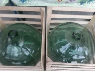 Borcane 50 litri,30 litri din sticla