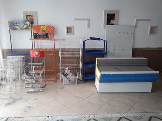 Vitrină frigorifică+echipament