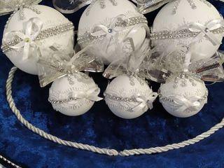 красивые новогодние шарики ручной работы