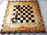 нарды шахматы резные картина*Карона*эксклюзив