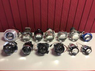 Линзы Bi-Xenon, Маски, Xenon, LED - установка и замена. Все виды автоламп.