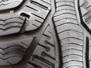 195 65 R15 - 4 колеса в комплекте с дисками и колпаками.