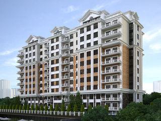 Centru, str. C.Stere, apartament cu 2 odai - 78.6 m2, bloc nou, posibil schimb