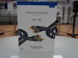 Межблочник In-akustik premium audio cable rca 0.75m, Lautsenn Gold Coaxial 1 м.